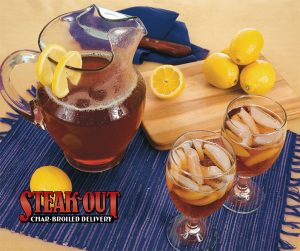 sweet tea at Steak-Out